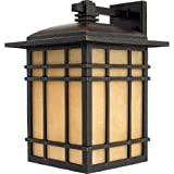 Quoizel HC8411IB 1-Light Hillcrest Outdoor Lantern in Imperial Bronze