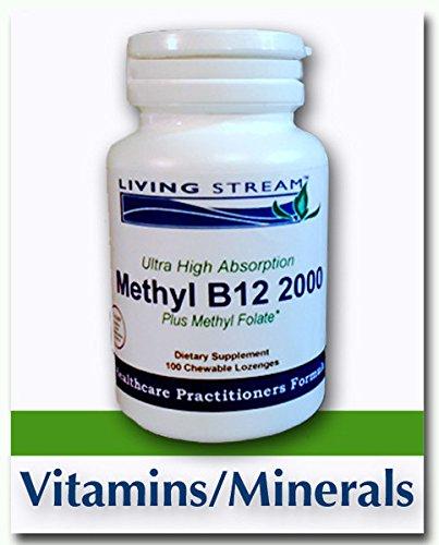 Methyl B12 2000 Plus Methyl Folate
