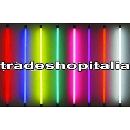 Admirable TrAdE Shop Traesio - Tubo Neon LED COLORATO T8 60/120/150 CM 9W WT-03