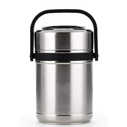 Amazon.com: HONGLIAN - Fiambrera de acero inoxidable con ...