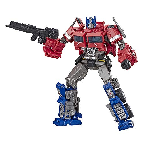 Prime Optimus Masterpiece - Transformers Toys Studio Series 38 Voyager Class Bumblebee Movie Optimus Prime Action Figure - Ages 8 and Up, 6.5-inch