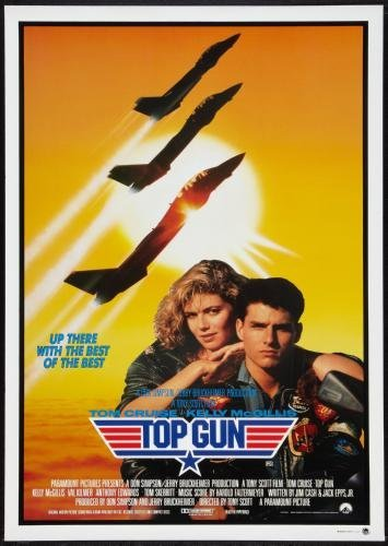 Top Gun Movie Poster #01 24x36in