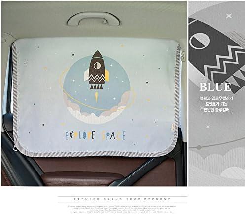 Sonnenschirm Displayschutzfolie Magnetverschluss Auto Sonnenschutz Vorhang f/ür Seite Fenster f/ür Baby Kinder Kinder Sch/ützt vor Sonne Blendung und Hitze Moon
