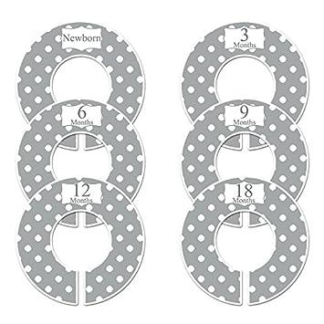 Amazon Com Closet Doodles C21 Gray Polka Dots Baby Clothing