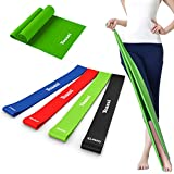 Yoassi Resistance Bands Exercise Loops Set - FDA Registered Thicker Workout Bands Stretch Bands for Legs Butt Glutes Yoga Fitness Physical Therapy Home Equipment Training for Women Men, Set of 5