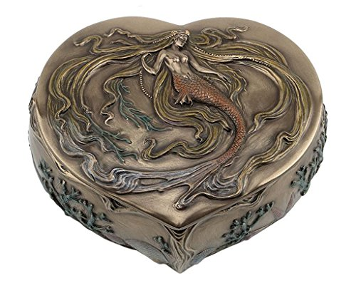 Heart Shape Trinket Box - 4
