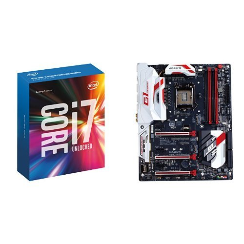 Intel Core I7-6700K with Gigabyte Z170X-Gaming 7 Motherboard