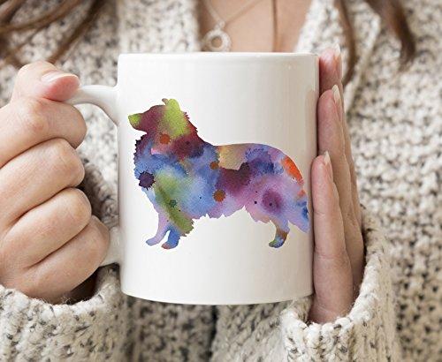 (Sheltie Mug - Shetland Sheepdog Lover Coffee Mug - 11 oz - Unique Sheltie Gifts)