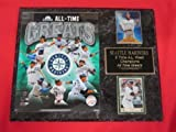 Mariners ALL TIME GREATS 2 Card Collector Plaque w/8x10 Composite Photo
