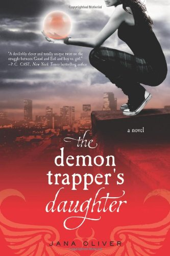 Book cover for The Demon Trapper's Daughter