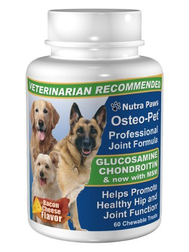 Osteo Pet Glucosamine 60 Bacon & Cheese Flavored Treats