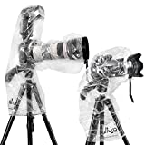 Photo : (2 Pack) Altura Photo Rain Cover for DSLR Camera – Standard and Flash Version