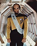 Michael Dorn Signed / Autographed Star Trek TNG 8x10 glossy photo as Worf. Includes Fanexpo Fanexpo Certificate of Authenticity and Proof. Entertainment Autograph Original. The Next Generation.