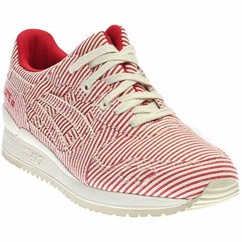 ASICS Herren GEL-Lyte III Retro Sneaker rot