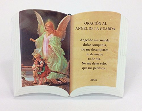 (Oracion)ANGEL GUARDIA/GUARDIAN ANGEL FOR TABLE AND WALL(PARA MESA O PARED) 6