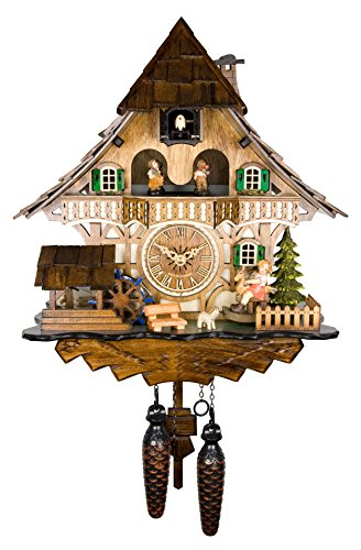Engstler Quartz Cuckoo Clock - The Rocking Horse