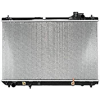 TYC 2830 Honda Ridgeline 1-Row Plastic Aluminum Replacement Radiator