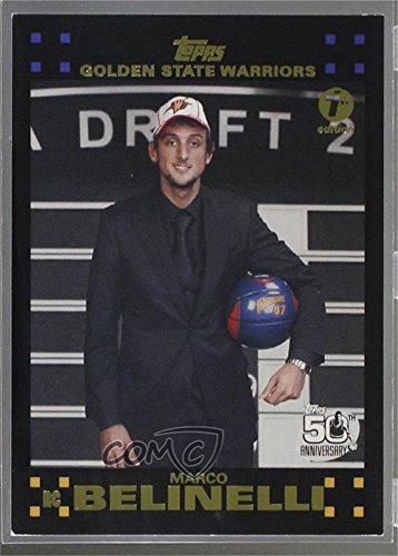 Marco Belinelli #9/119 (Basketball Card) 2007-08 Topps - [Base] - 1st Edition #128