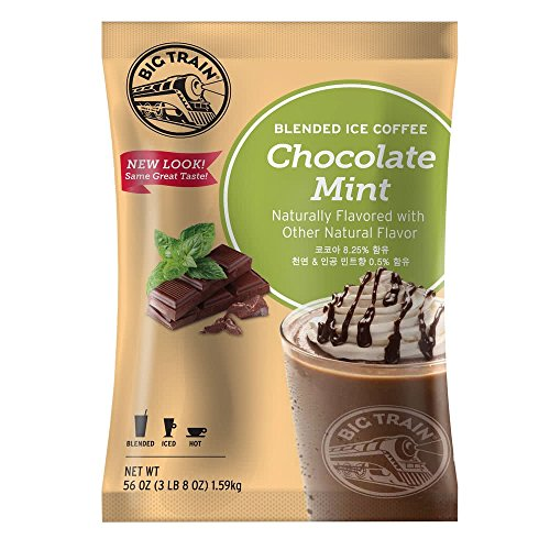 Big Train Blended Iced Coffee - Chocolate Mint (3.5 lb Bulk Bag) ()