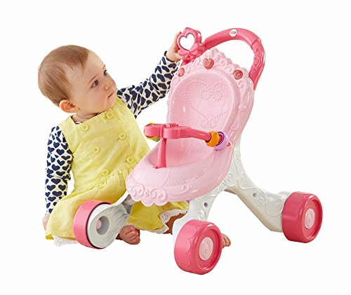 Fisher Price CGN65 Stroll Along Musical Walker