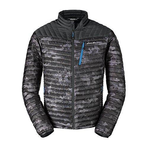 Eddie Bauer Men's MicroTherm StormDown Jacket, Dk Gray M