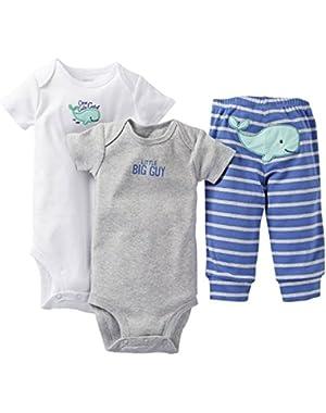 Carter's Baby Boys' 3 Piece Set - Blue