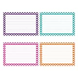 TOP NOTCH TEACHER PRODUCTS BORDER INDEX CARDS 4X6 LINED 75CT (Set of 24)