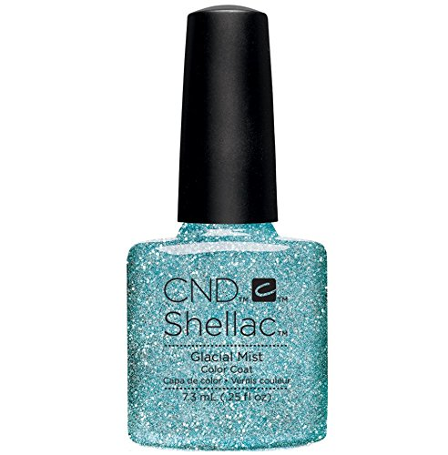 CND Shellac Nail Polish, Glacial Mist, 0.25 fl. oz. - Mist Nail Lacquer