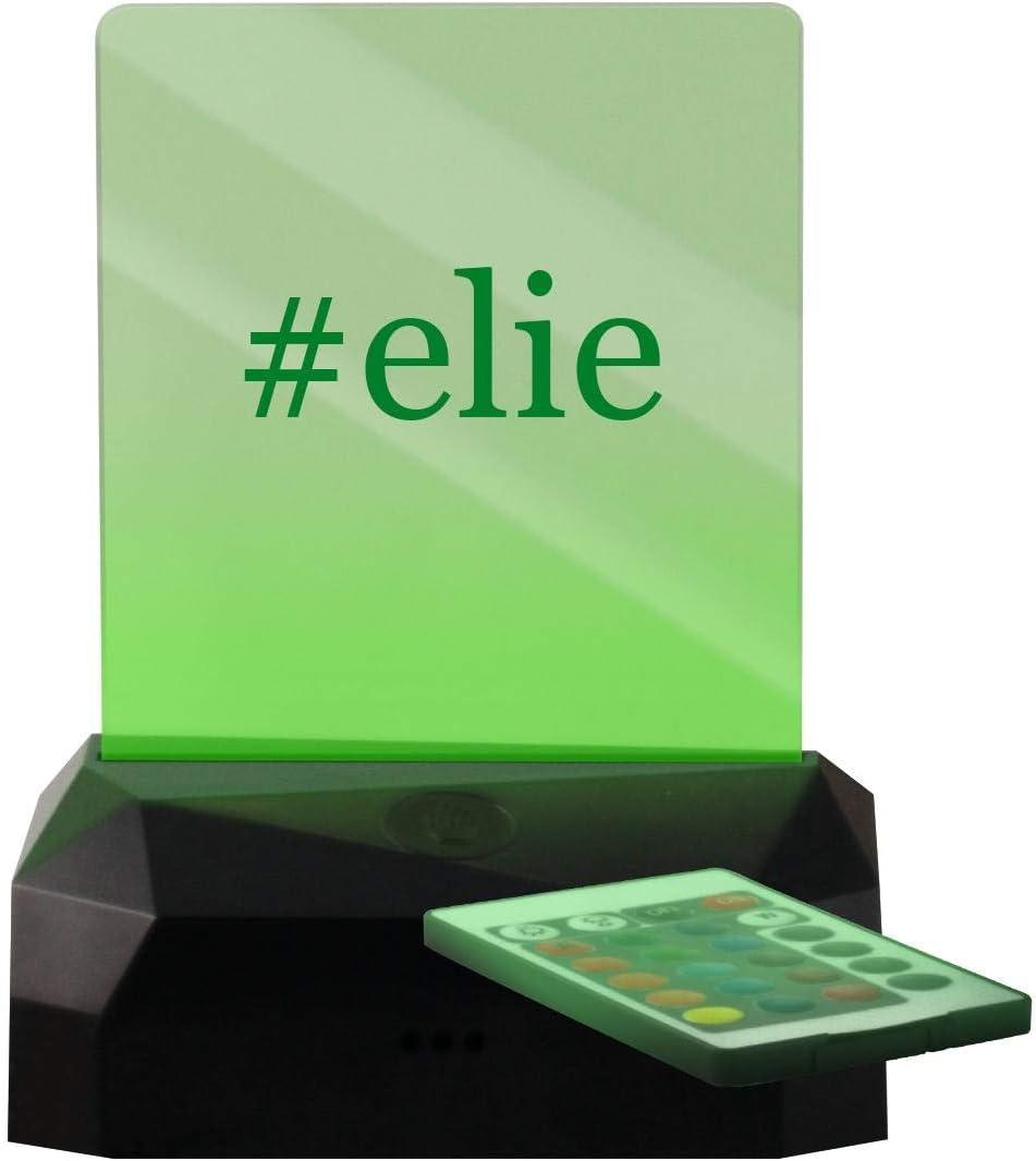 #Elie - Hashtag LED Rechargeable USB Edge Lit Sign