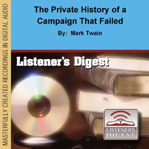 Bargain Audio Book - The Private History of a Campaign That Fa
