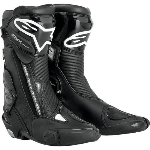 Alpinestars S-MX Plus Gore-Tex Boots , Primary Color: Black, Size: 12, Distinct Name: Black, Gender: Mens/Unisex 2331012-155-47