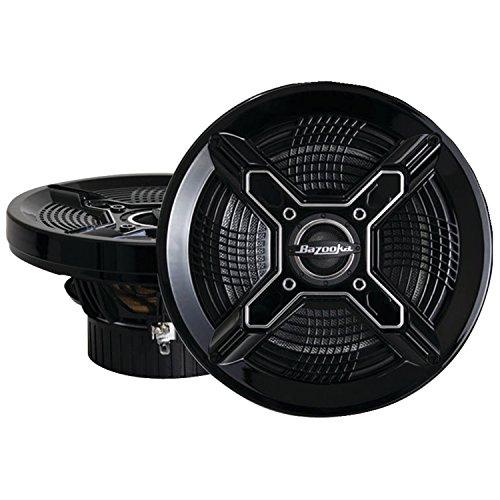 Bazooka MAC6510B 6.5-Inch Marine Coaxial Speaker, Set of 2
