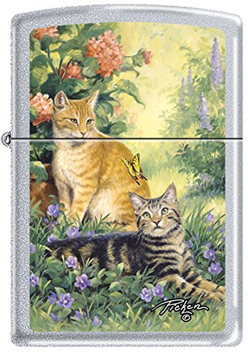 Purrrfect Cat (Zippo Linda Pickens Collection Purrrfect Cats Lighter)