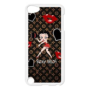 Ipod 5 Cell Phone Case Cartoon stars Betty Boop Custom Case Cover 3ESA366824
