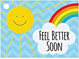Feel Better Sunshine (6 Pack ) 3-3/4 x 2-3/4''