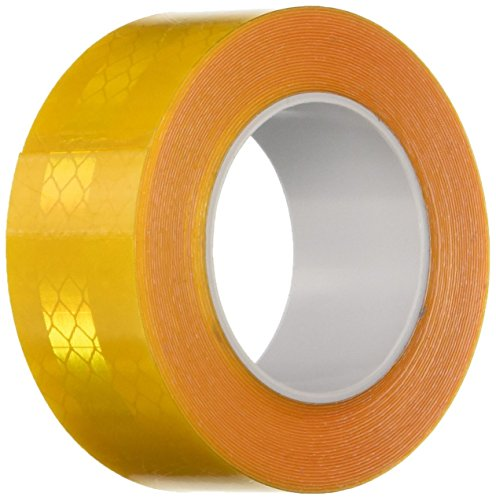 3 Meter Reflective Tape - 3M 3431 Yellow Micro Prismatic Sheeting Reflective Tape, 1