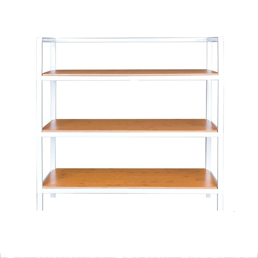 NAN liang 靴ラック4層は靴の16組を収容多機能収納ラック廊下居間寝室60 * 28 * 52cm 自宅に適しています (色 : 1) B07KF1GS6T 1
