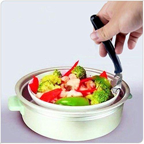 Cocina horno microondas plato, bol mano garra clip Gadgets ...