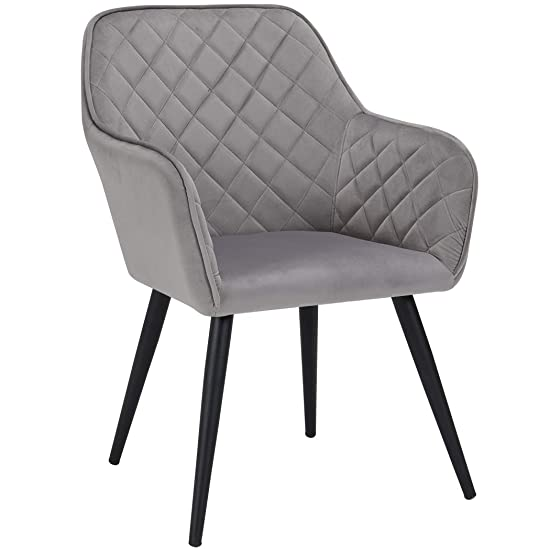 Duhome Modern Accent Chairs,Home Office Mid-Back Support Mid-Century Arm Chair Leisure Upholstered Chair