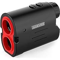 WAKYME Rangefinder, Golf & Hunting Rangefinder, 650/1000 Yards 6X Range Finder with Slope, Fast Flag-Lock, Angle Measurement, Speed, Scan, Laser Rangefinders with Low Battery Indicator