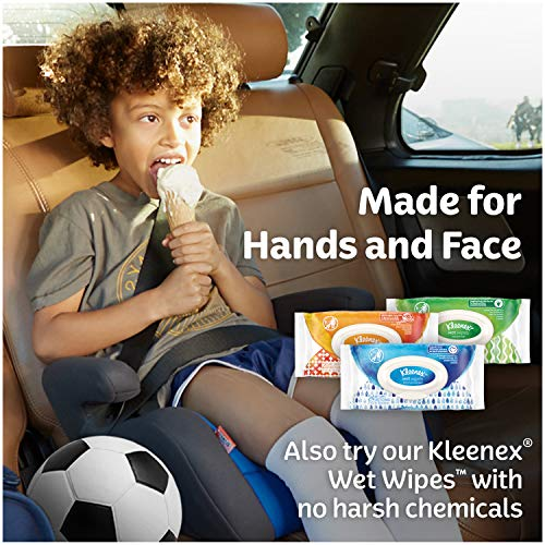 Kleenex Lotion Facial Tissue, Upright Boxes, Each 4 Count of 65 Tissues