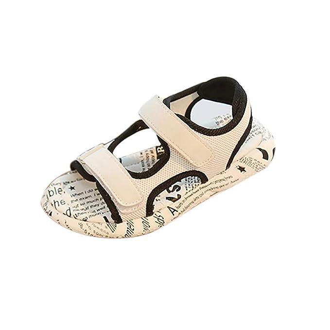 701ebef4e Berimaterry Zapatillas de Estar por casa Bebé-para Niñas Antideslizante  Verano del Zapato de Lona