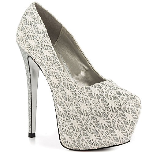 Luichiny Womens My Pleasure Dress Pump White eH6dPtysP