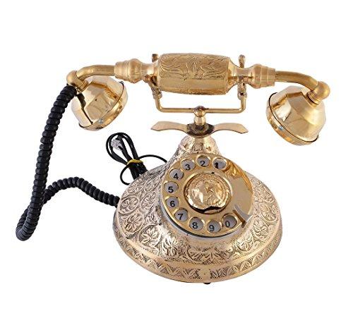 JaipurCrafts Handcrated Royal Rajasthan Antique Landline Phone