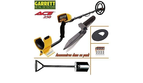 Prolyte Ace 250-Detector De metales con su protección Disco-Pala Big Foot-Cuchillo De registro.: Amazon.es: Bricolaje y herramientas