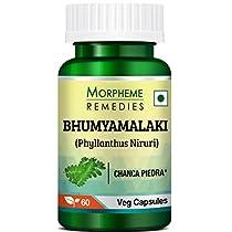 Morpheme Phyllanthus Niruri Bhumyamlaki 500mg Extract 60 V