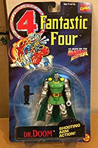 Fantastic 4 Animated Series Dr. Doom by: Amazon.es: Juguetes y juegos