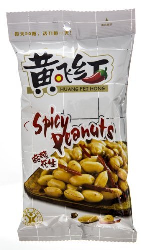 Huang Fei Hong Spicy Cripy Peanut, 3.88 Ounce - Spicy Peanuts