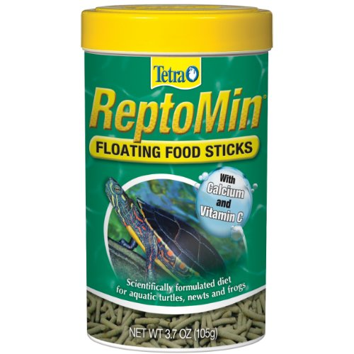 Tetra 29254 ReptoMin Floating Food Sticks, 3.7-Ounce, 375 ml (Reptomin Sticks)