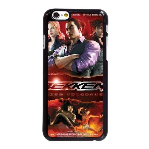 T7F92 Tekken sang Vengeance Haute Résolution Affiche X3W4KY coque iPhone 6 4.7 pouces Cas de couverture de téléphone portable coque noire XD3POW7GR